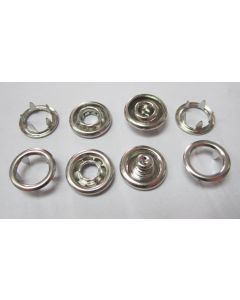 GreenBeans Metal Ring Snaps