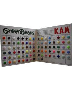 Snap Colour Sample Card